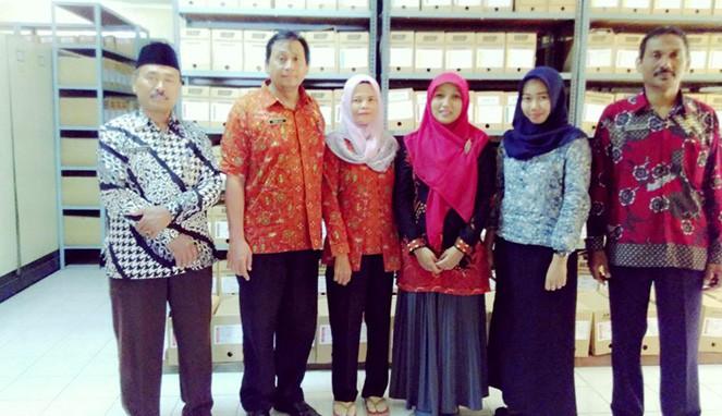 Kunjungan Kearsipan UNISKA ke Kantor Arsip dan Perpustakaan Pemerintah Kabupaten Kediri